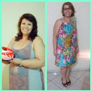 160_Nair Pinheiro Marcondes – Antes 83 kg Depois 70 Kg