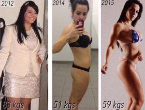 003_Adrielle – Antes 83kg Depois 59 KG
